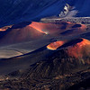 Haleakala moonscape, Maui.