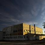 Old WW2 era hangar in W. Wendover Nevada.